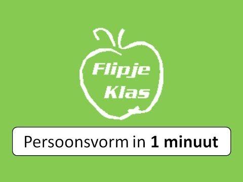 Flipje Klas - Persoonsvorm in 1 minuut - YouTube