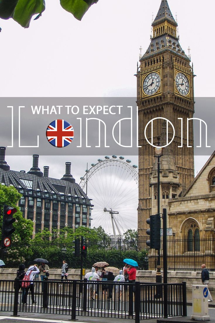 What to Expect in London! Language: English is by far the most spoken language in the city. Currency: The British Pound, which is usually exchanged at around 1.65 US Dollars per pound.