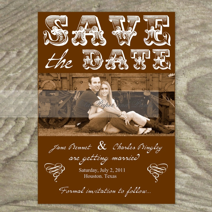 162 best Cowboy Wedding Invitations images on Pinterest | Country ...