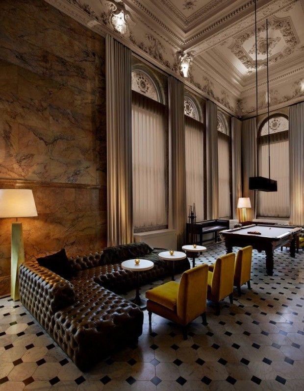 THE LONDON EDITION & BERNERS TAVERN- O mais recente e badalado hotel na cidade, que combina inovação, excelente design, gastronomia e entretenimento, com simpático serviço personalizado e ultra moderno.