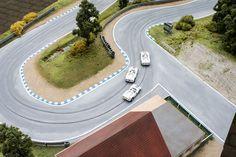 Forest Hill Custom Slot Car Track 1:64