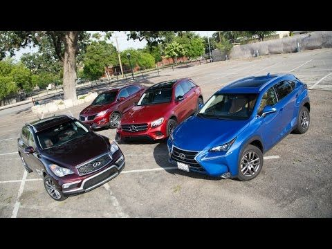 2016 Small Luxury SUV Comparison Video by the Kelley Blue Book Editorial Team