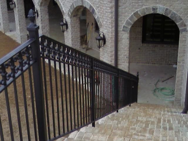 Choosing Delightful Pictures For Stunning Exterior Wrought Iron Handrails  Design: Classic Exterior Wrought Iron Handrails