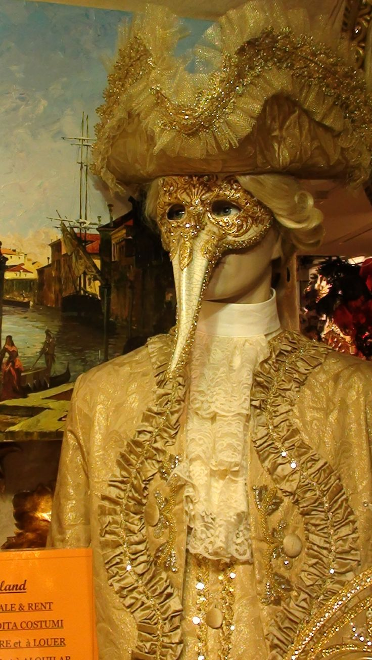 The Medico della peste, with its long beak, is one of the most bizarre and recognisable of the Venetian masks, though it did not start out as carnival mask at all but as a method of preventing the spread of disease. The striking design originates from 17th-century French physician Charles de Lorme who adopted the mask together with other sanitary precautions while treating plague victims.