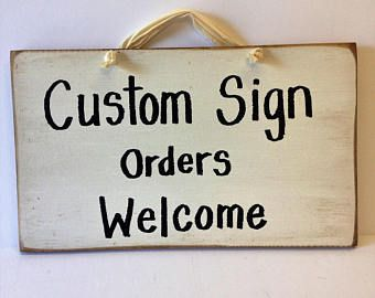 Custom sign Personalized wood plaque 7 x 11 inches Names Directions Gag Gifts Family members Fast shipping FREE