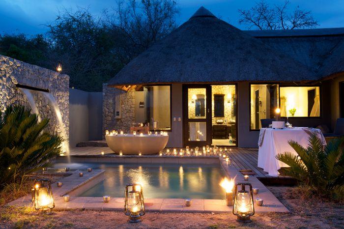 private Granite suite @ #Londolozi Game Reserve #SouthAfrica
