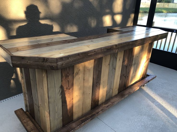 Charming Etsy The Plank Top Maggie   8u0027 Rustic Finished Barnwood Or Pallet Style Bar,  Sales Counter Reception Desk