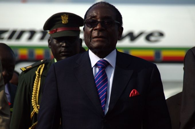 Hedge funds gave Mugabe $100M for genocide, got platinum mines in return