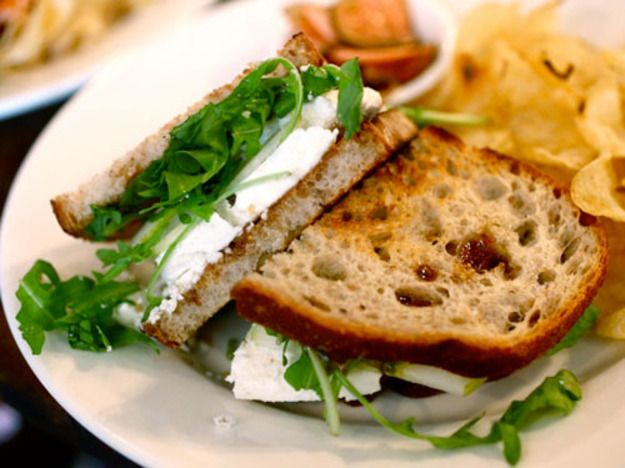 A Sandwich A Day: Manouri Cheese & Fig at The Smile