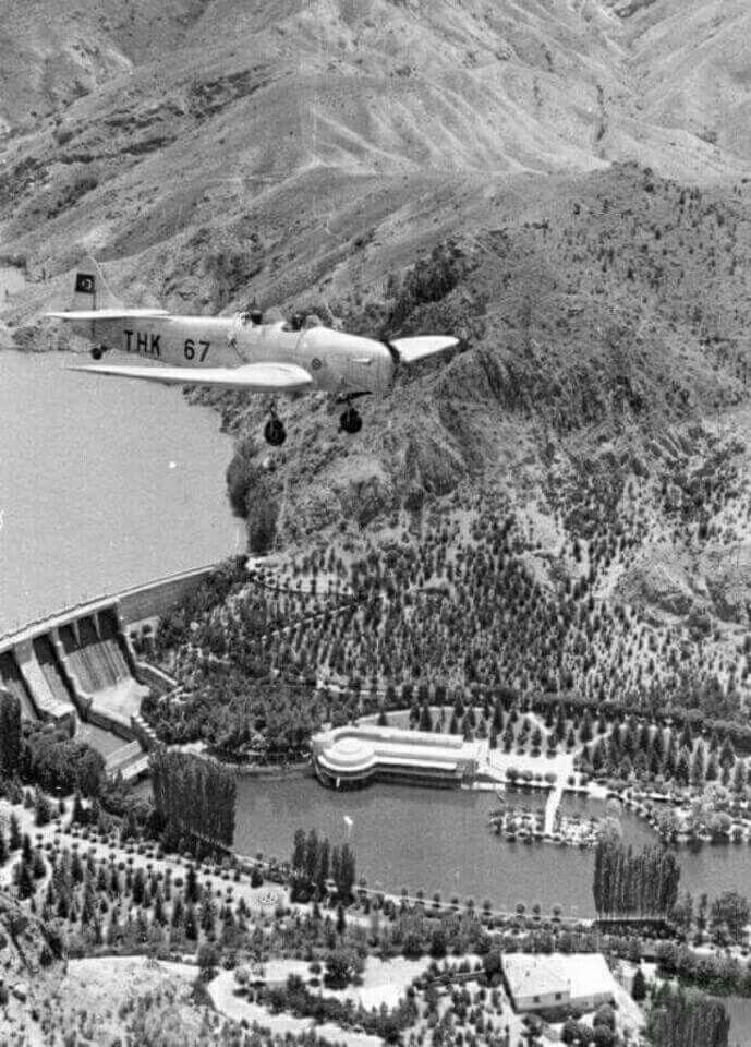 Havadan Çubuk Barajı