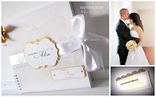 Old Hollywood Glamour Wedding Album
