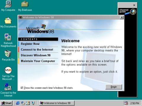 Установка Windows 98