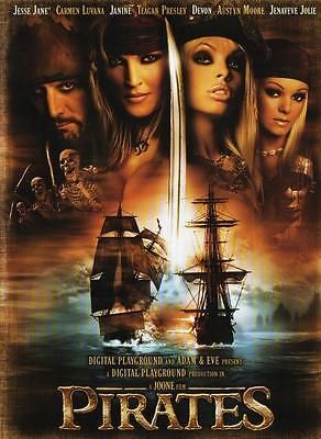PIRATES - Jesse Jane , Carmen Luvana and Janine RARE ALL REGION UNCUT DVD