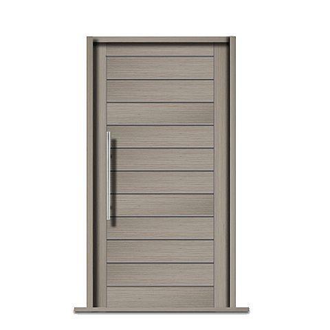 puerta de entrada maciza de madera PRAGUE Rubben UK