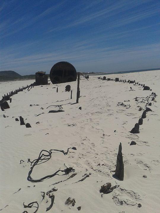 Shipwreck on Noordhoek/Kommetjie beach.  #capetown #travel