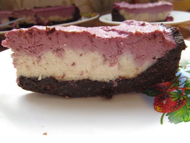 торт сыроедческий, шоколадный, вишнёвый, шоколад, вишня, сыроедческий рецепт, сыроедение, сыроед, рецепт