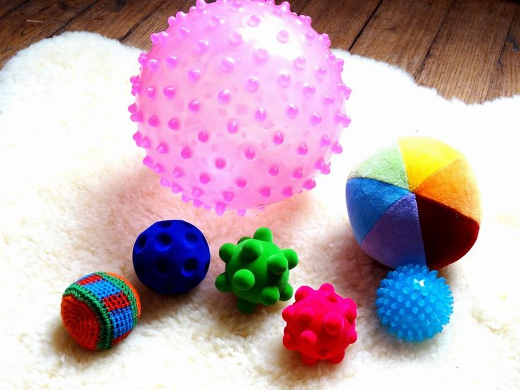 Titouan: Balles sensorielles