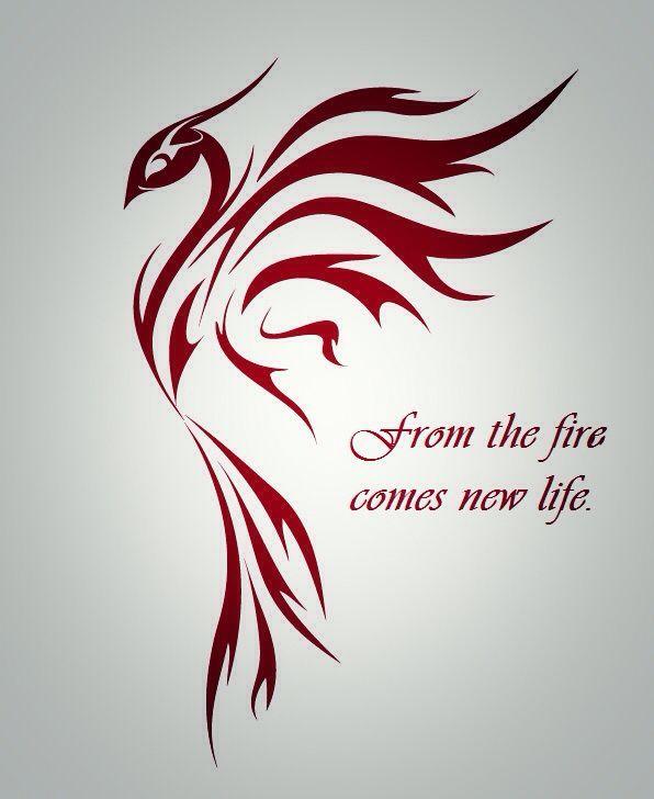 Phoenix Tattoo Idee – Tätowierung