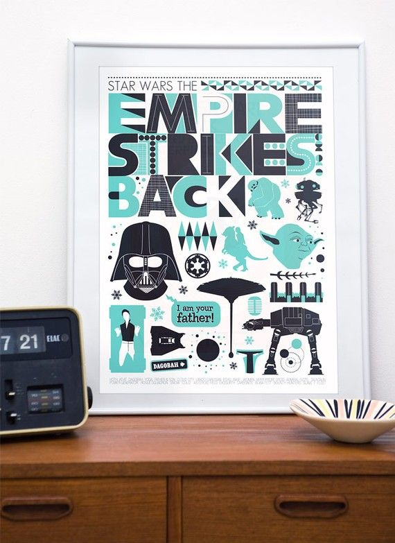 I think this would be good in either J's man cave, or to do PD's bathroom around. I'm not a huge fan of the licensed Star Wars stuff, but I can get behind this.
