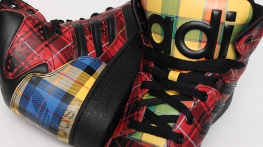 adidas Jeremy Scott Instinct - Tartan