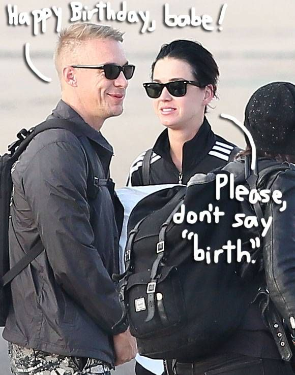 Katy Perry Finishes Her Birthday Week With Diplo In Paris! And She Does NOT Look Too Concerned About Him Getting Another Girl Pregnant!