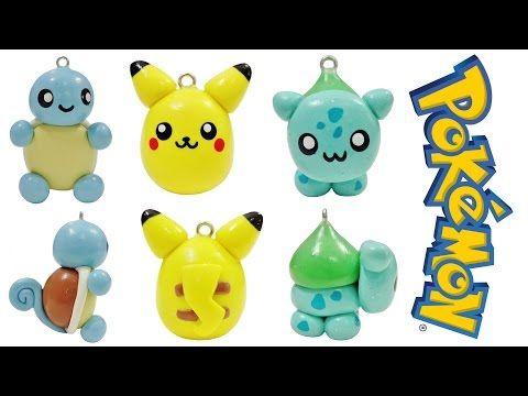 Easy Kawaii Pokémon Charms polymer clay tutorial