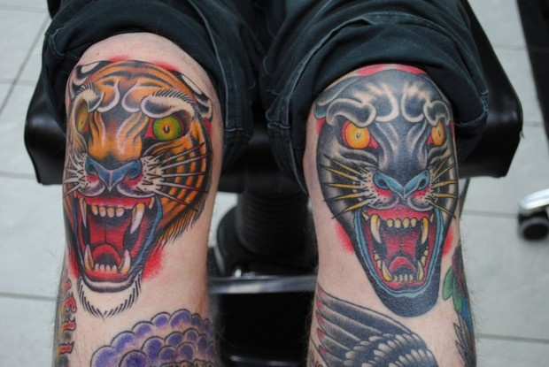 110 best images about men 39 s tigers ink on pinterest for Panther tiger tattoo