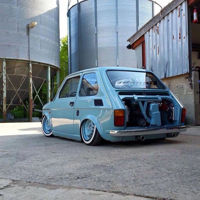 Fiat 126   Lowered, Slammed
