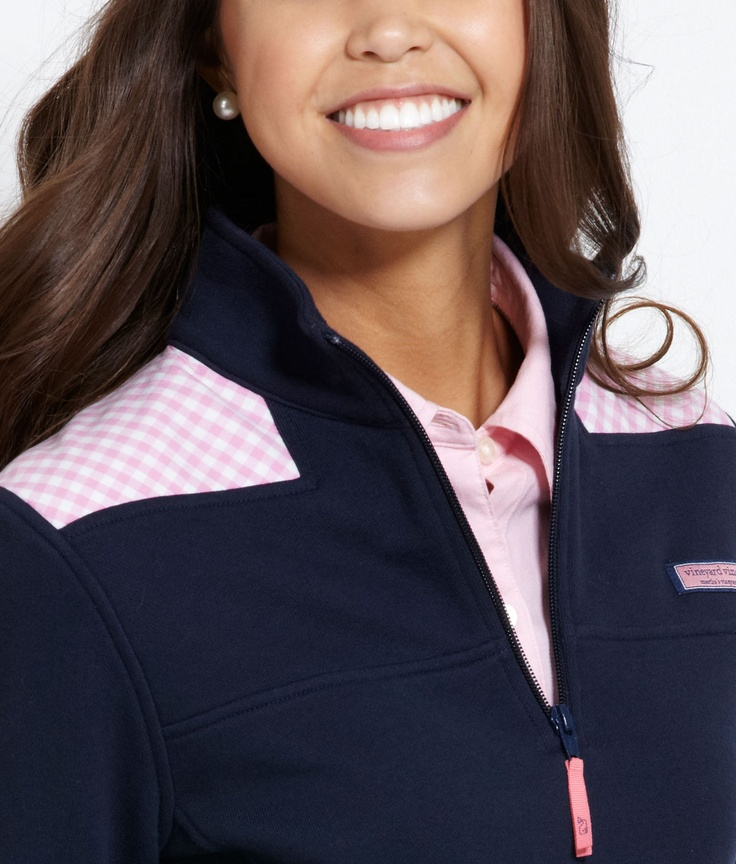 Vineyard Vines Gingham pullover WANT