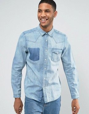 Camisas occidentales vintage de hombres