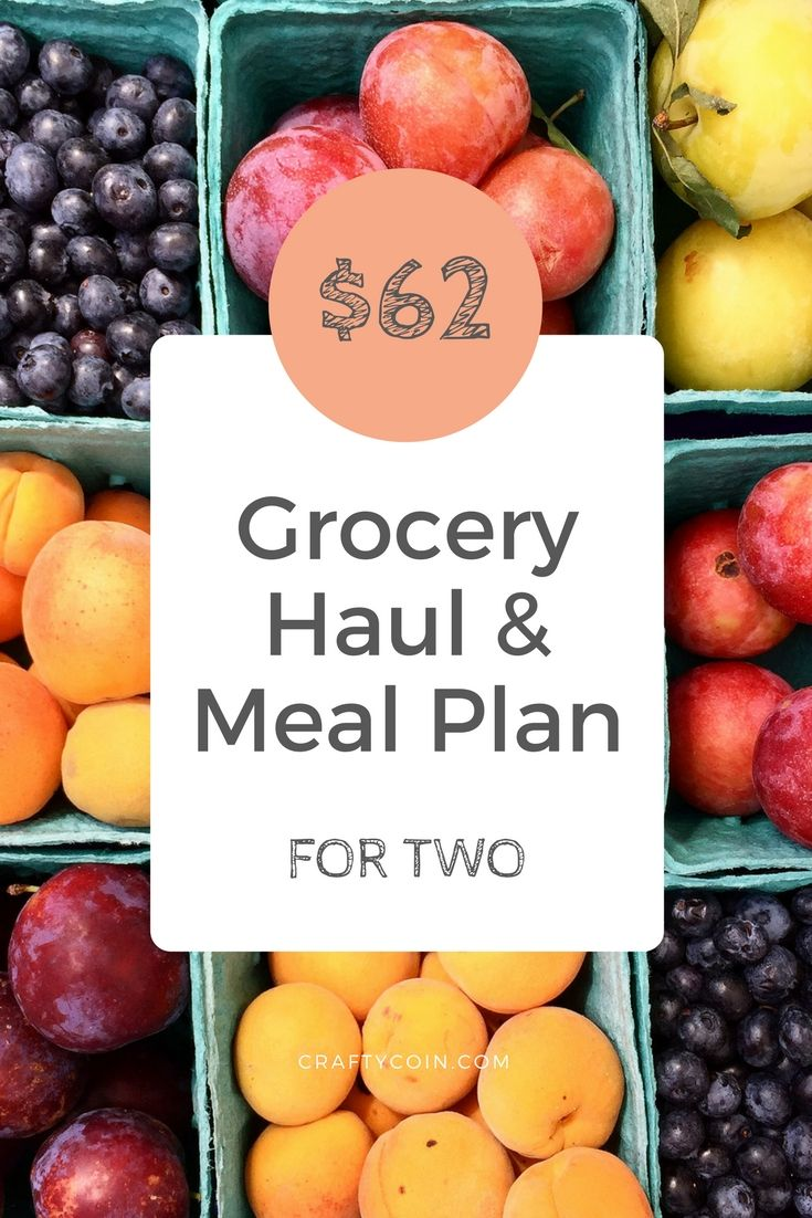 This grocery haul shows you exactly what two people bought for one week of groceries. It's perfect for people who want to eat healthy on a budget!