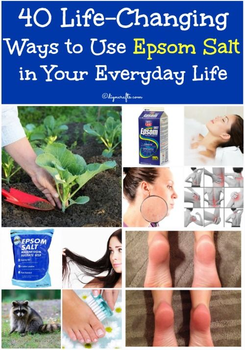 40 Life-Changing Ways to Use Epsom Salt in Your Everyday Life.