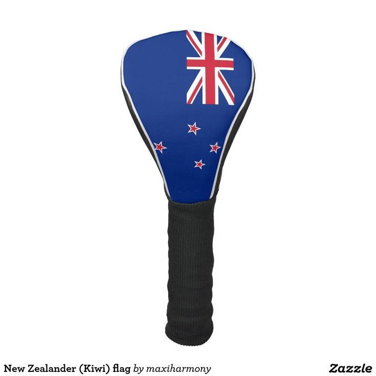 New Zealander (Kiwi) flag Golf Head Cover