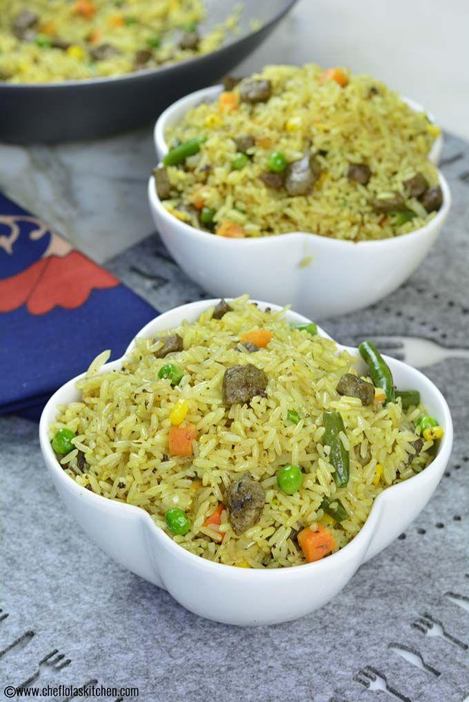 Nigerian Fried Rice Chef Lola S Kitchen Video Recipe Easy