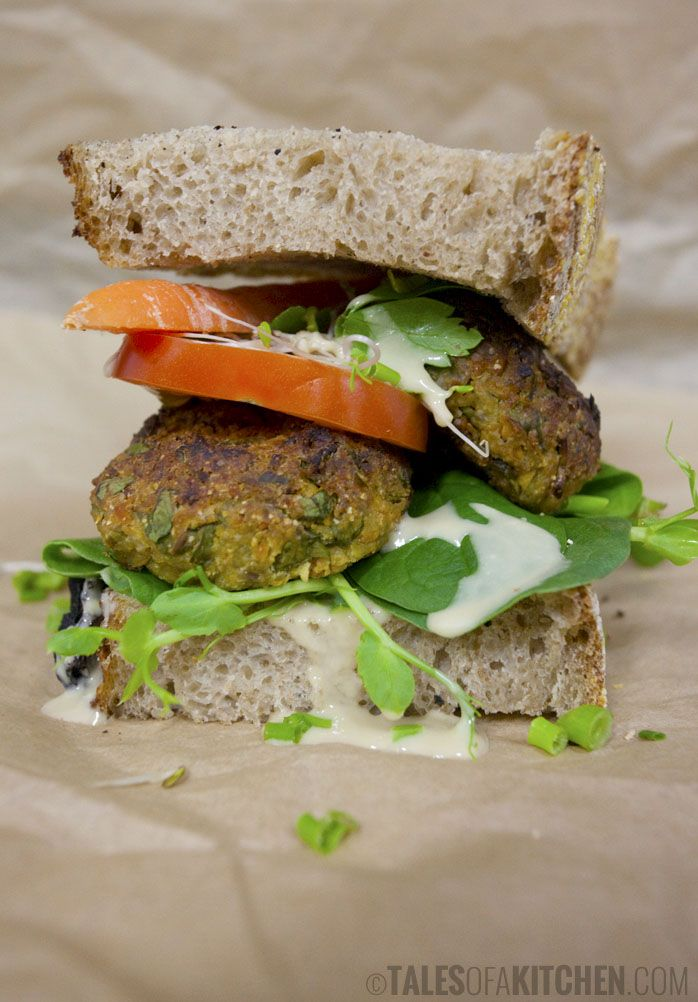 vegan broad bean falafel