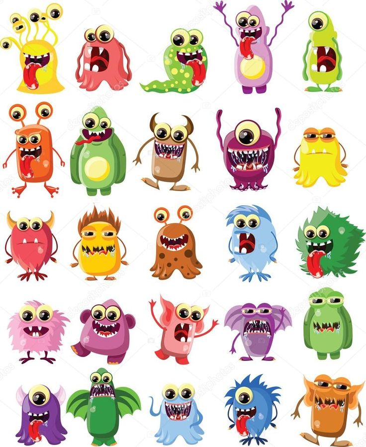 depositphotos_30388059-stock-illustration-cartoon-cute-monsters.jpg (837×1023)