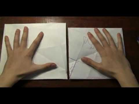 """Paper folding """"proof without words"""" of Pythagorean Theorem!  This is CCSS if I ever did see it!"""