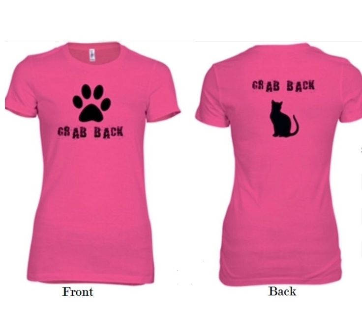 "NEW! WOMEN'S RIGHTS ""GRAB BACK"" PINK WOMEN'S  T-SHIRT. Size:  S, M, L, XL & 2XL #Unbranded #GraphicTee"