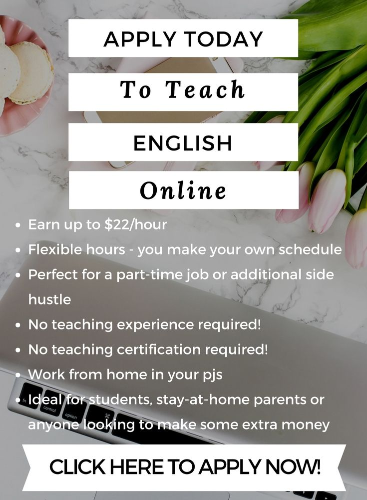 Apply Now To Teach English Online Teaching English Online