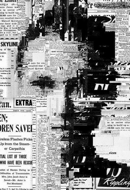 Collage = een voorstelling gemaakt met losse stukjes materiaal bijvoorbeeld papier