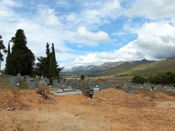 Joubertina Graveyard Cape Province South Africa