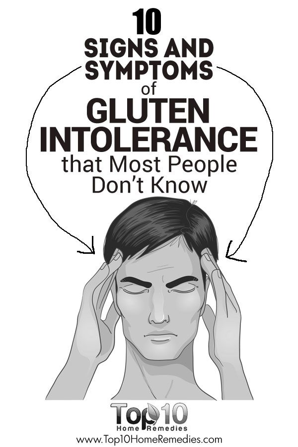 10 Signs and Symptoms of Gluten Intolerance that Most People Don't Know
