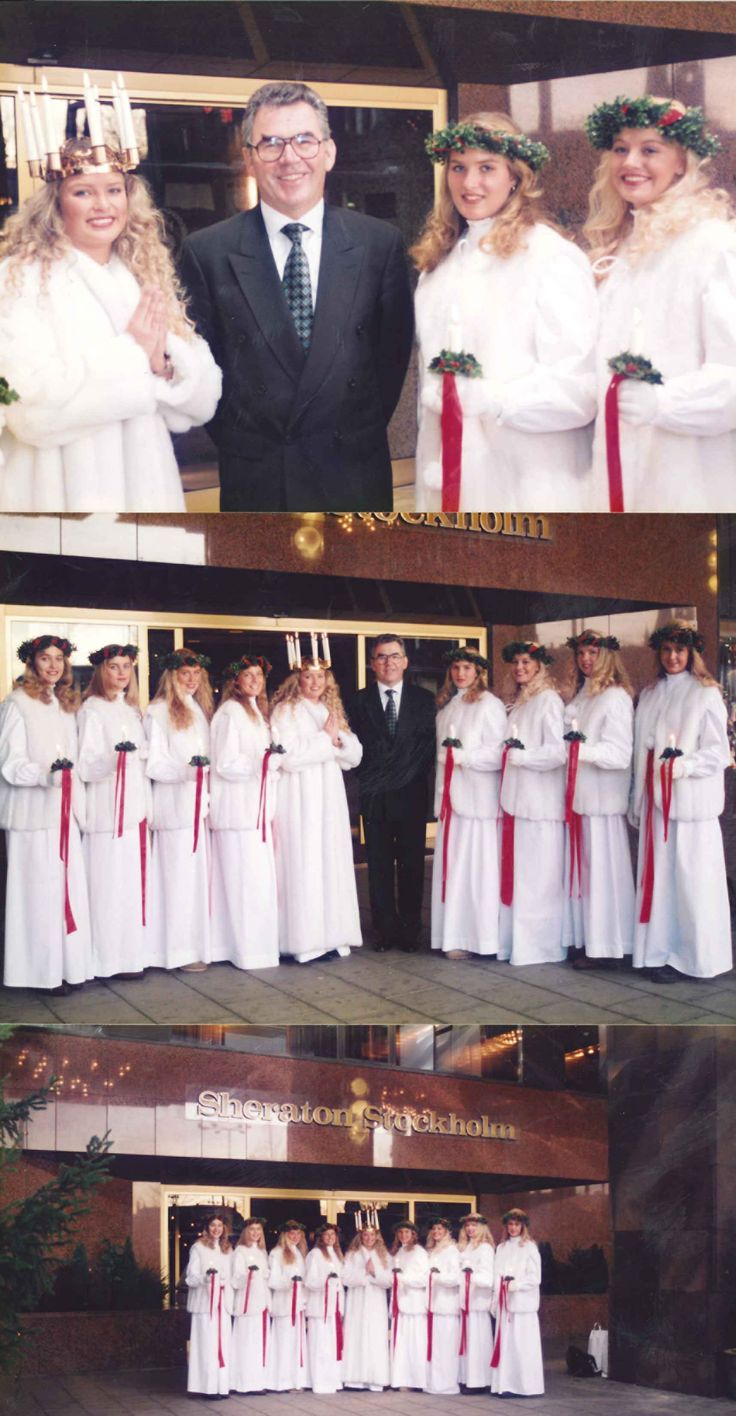 #TBT to our Lucia celebrations in 1993. 🌟🌟🌟