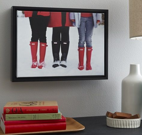 Bring color to your home decor with framed canvas prints. | Shutterfly