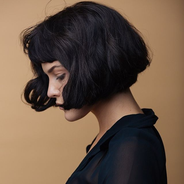 Fabulous 1000 Ideas About Black Bob Hairstyles On Pinterest Black Bob Hairstyle Inspiration Daily Dogsangcom