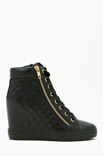 Zipps Quilted Sneaker by #SteveMadden