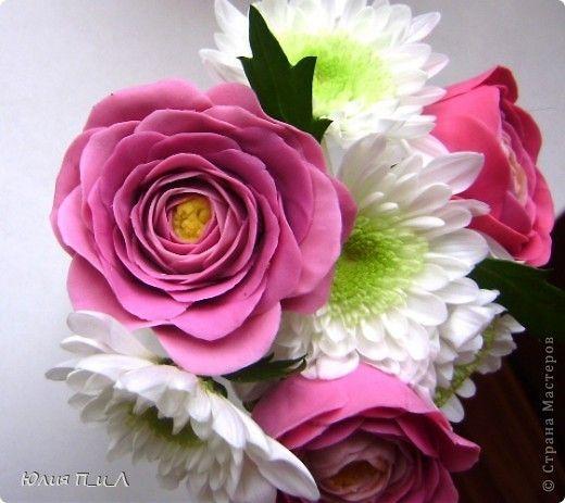 Мастер-класс Лепка Ранункулюсы-цветы оказались так просты  Лепим?МК Фарфор холодный фото 4