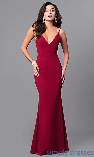 25  best ideas about Red formal dresses on Pinterest | Red prom ...