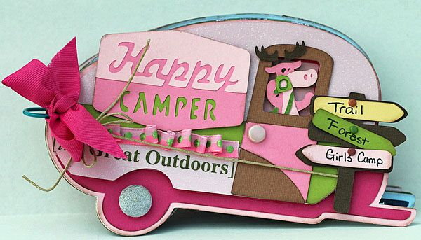Cricut Camping projects