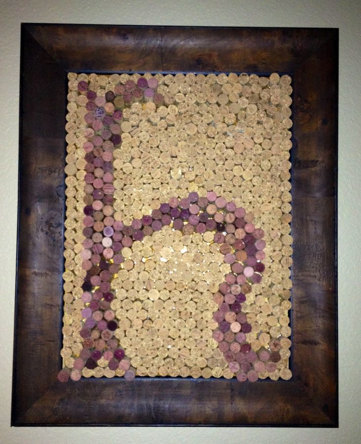 Wine Cork Wall Art 43 best cork images on pinterest | cork wall, wine cork crafts and